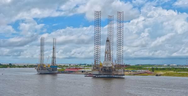 Illustration: Offshore rigs in Nigeria - Credit: Igor Groshev/AdobeStock