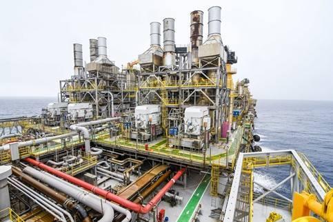 Illustration only: An offshore platform in Brazil - Image Credit: Petrobras