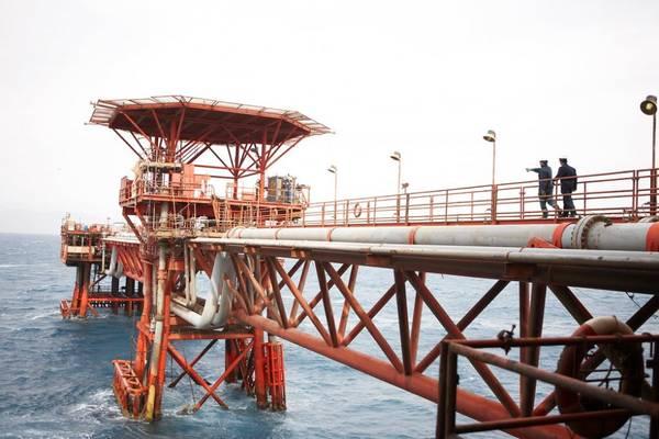 Illustration - An offshore platform in Egypt (File photo: BP)