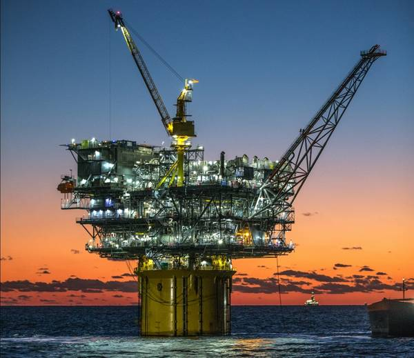For illustration only - An oil platform at Hess-operated Tubular Bells field in the U.S. Gulf of Mexico - Credit: Hess (The photo has been cropped)