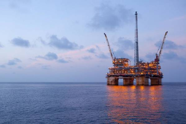 For Illustration; BP's Na Kika platform in the U.S. Gulf of Mexico - Credit: BP