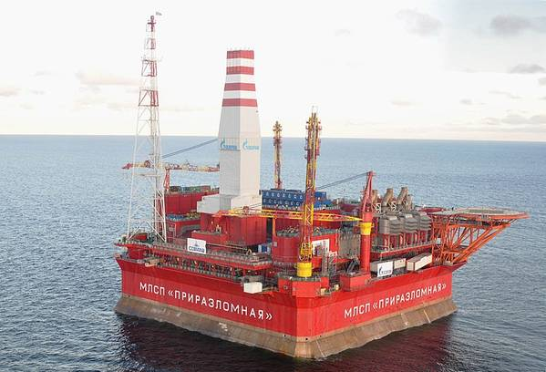 Illustration only - An oil platform in Russia .- Credit:SenkYou/Wikimedia Commons - Shared under CC BY-SA 4.0 license