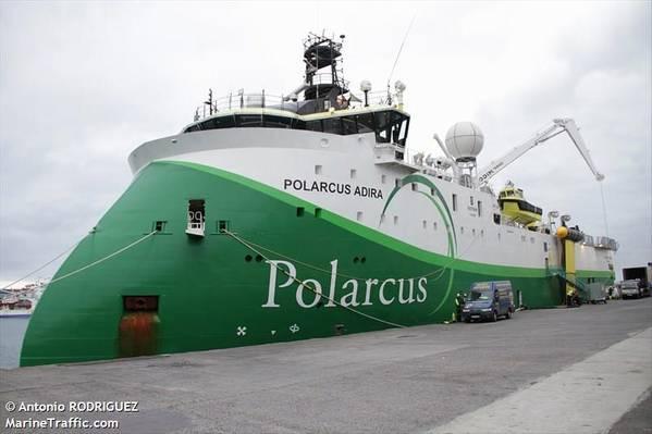 Illustration - Polarcus Adira - Antonio RODRIGUEZ/MarineTraffic.com