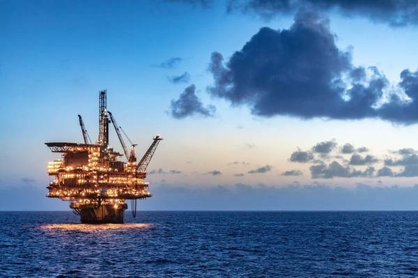 Illustration only - Shell's Gulf of Mexico platform - Credit: Stuart Conway/Shell