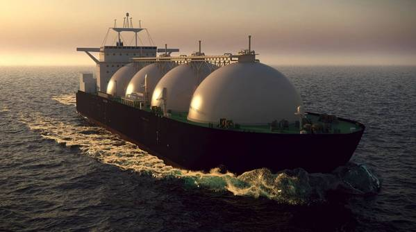 Illustration; An LNG Tanker - Image by Alexyz3d - AdobeStock