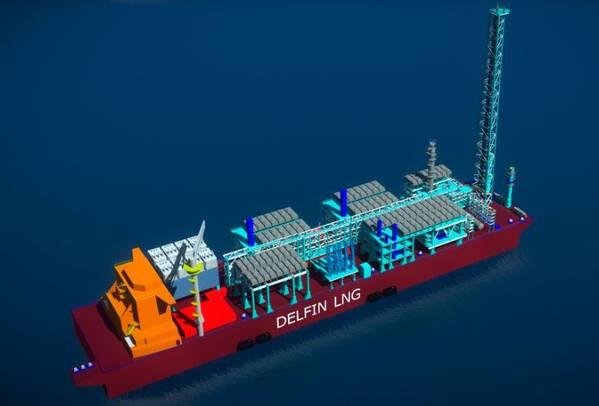 Image Credit: Delfin LNG
