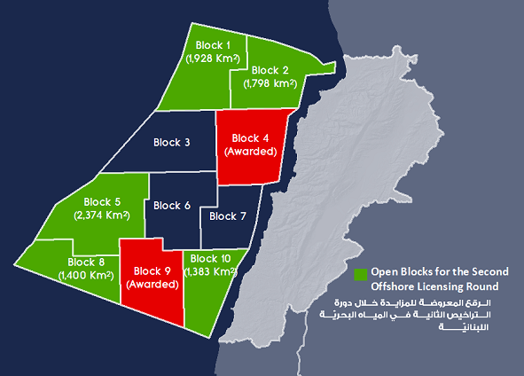 Image Credit: Lebanese Petroleum Administration