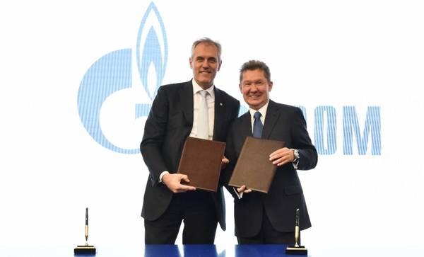 Image - Gazprom, OMV