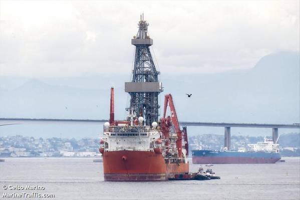 Image for illustration - A Seadrill drillship - Credit: Celso Marino/MarineTraffic.com