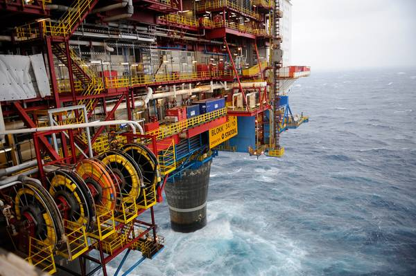 File Image: an offshore Equinor installation (CREDIT: Equinor)