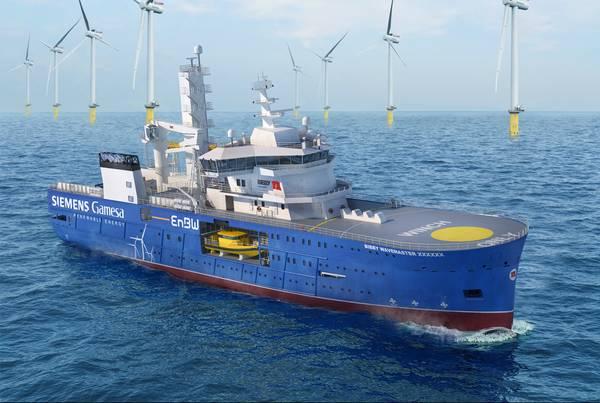 File Image: offshore wind farm operations / credit: © Damen