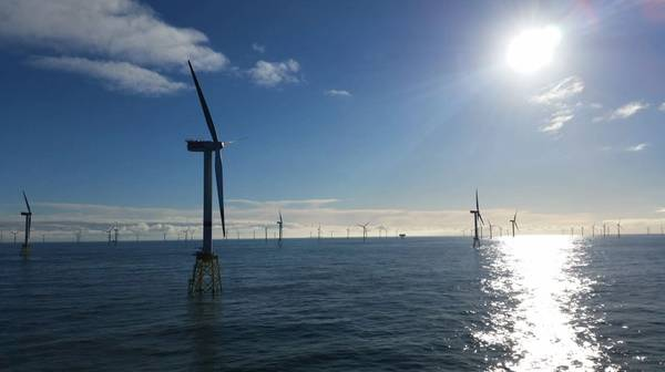 Innogy's offshore wind farm in Germany - Credit: Innogy