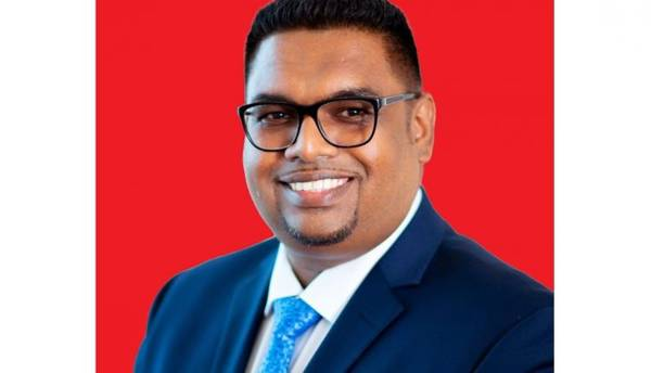 Irfaan Ali is Guyana's new president - Image credit: Guyana's Department of Public Information