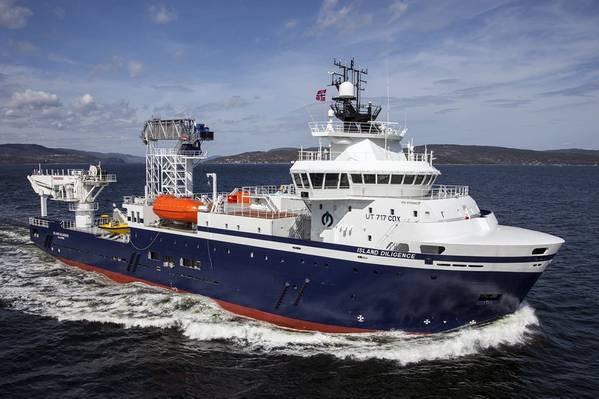 Island Diligence - Photo: Gunder Tande Sandersen via Island Offshore