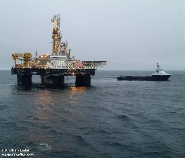 Island Innovator semi-submersible drilling rig - Credit:Kristian Endal/MarineTraffic