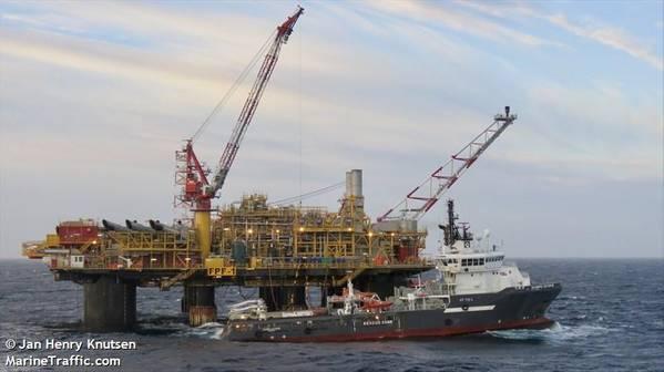 Ithaca Energy's FPF-1 platform - Credit: Jan Henry Knutsen/MarineTraffic.com