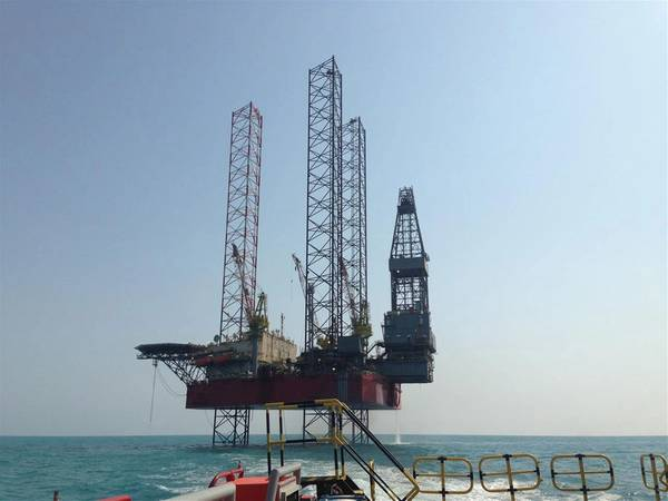 AOD I jack-up rig/Credit: Seadrill