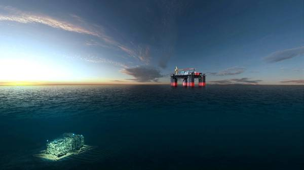 Jansz-Io Compression project - Field Control Station and Subsea Compression Station (Photo: Chevron)