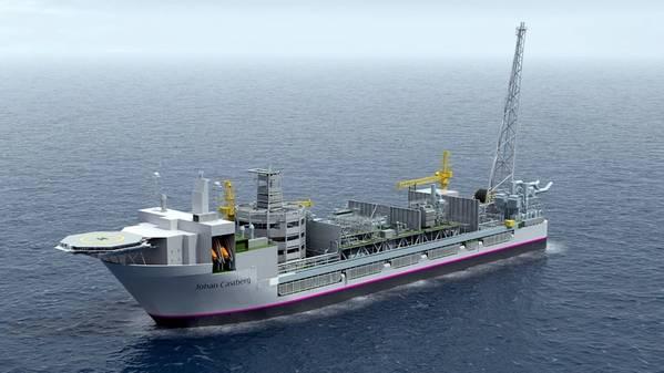 Johan Castberg floating production vessel (Illustration: Equinor)