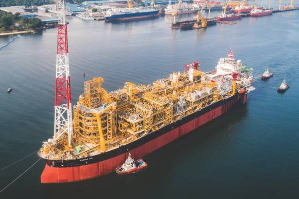 FPSO Kaombo Sul in Angola (Photo: TechnipFMC)