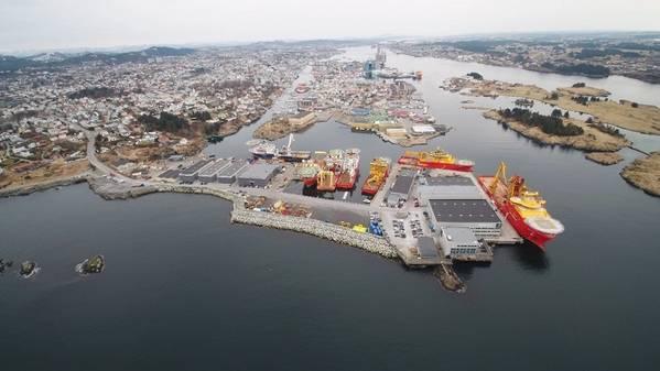 Killingøy facilities - Credit: DeepOcean