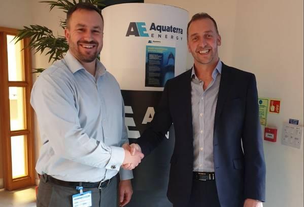 Leigh Martin, Oceaneering and James Larnder, Aquaterra Energy