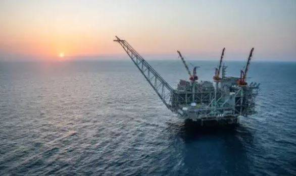 Leviathan Platform - (File photo - Noble Energy)
