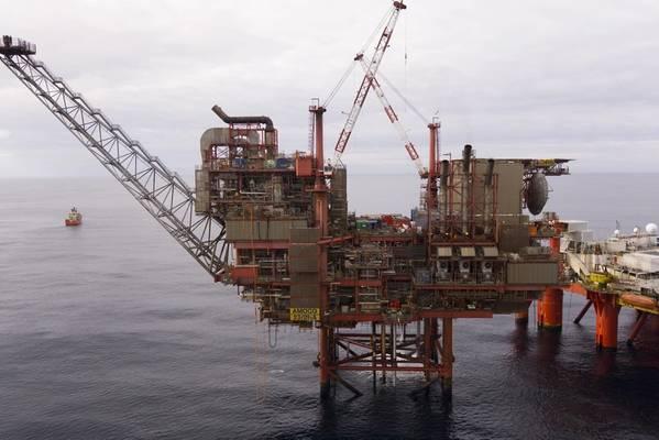 Lomond Platform - Credit: Harbour Energy