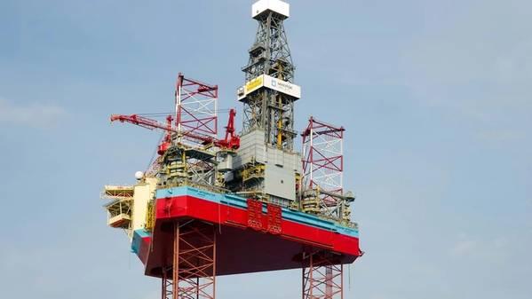 A Maersk Drilling Jack-Up / Credit; Maersk Drilling