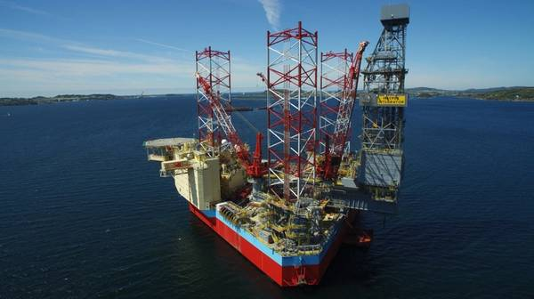 Maersk Integrator/Credit: Maersk Drilling
