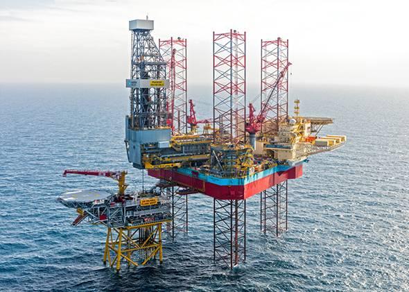 Maersk Invincible rig - Credit: Maersk Drilling