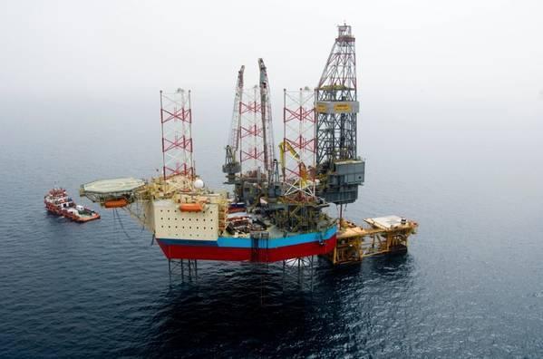 Maersk Resilient jack-up drilling rig - Credit: Maersk Drilling
