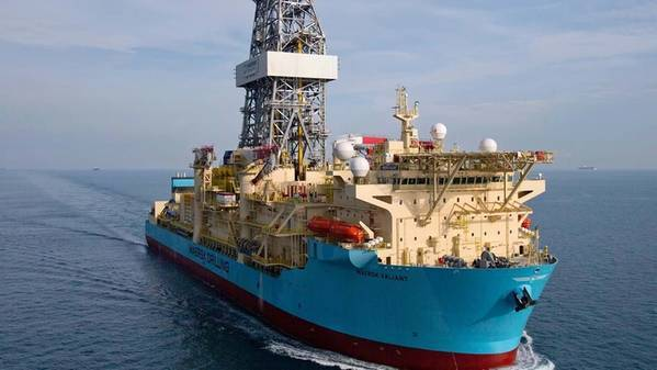 Maersk Valiant drillship - Image source: Maersk Drilling