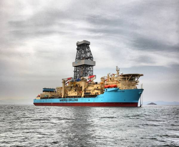 Maersk Venturer drillship - Credit: Tullow