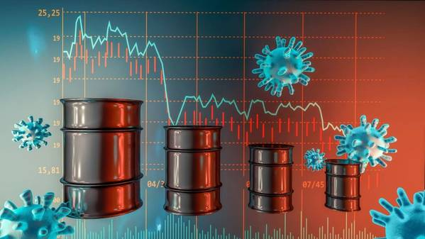 Oil markets received a lift from the U.S. stimulus chatter, but for the most part activity remains rudderless, awash in a sea of oil, - Illustration by OOSORIOartist - AdobeStock