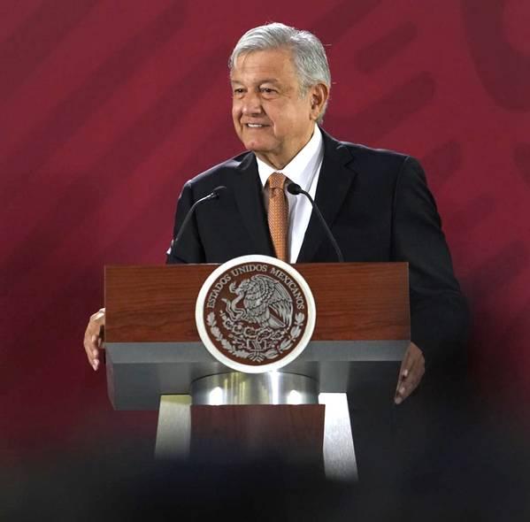 Mexican President Andres Manuel Lopez Obrador (Mexican Government photo)