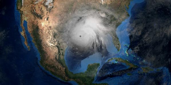 A Gulf of Mexico hurricane - Credit: Sasa Kadrijevic/AdobeStock