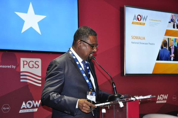 Minister of Petroleum and Mineral Resources of Somalia, Abdirashid Mohamed Ahmed (File Photo) - Credit: Ministry of Petroleum and Mineral Resources