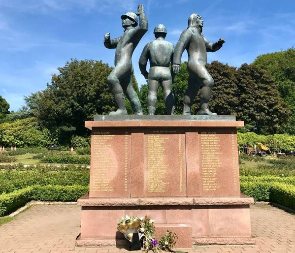 A monument for those who lost their lives in the Piper Alpha disaster - Credit: Oil and Gas UK