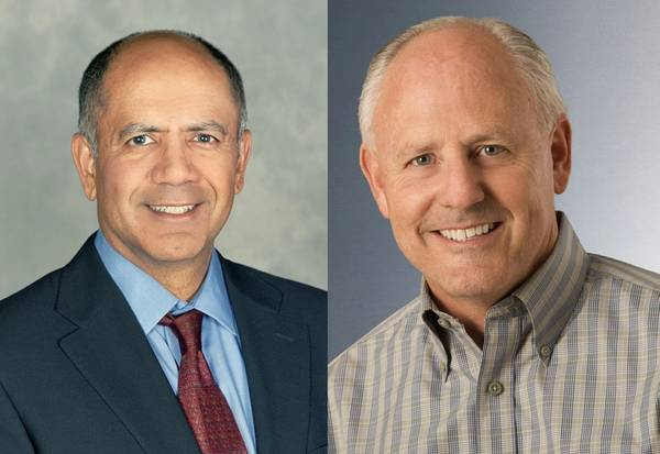 From left: Navin Mahajan and Dale Walsh (Photos: Chevron)