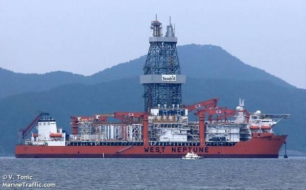 West Neptune drillship - Credit: V. Tonic/MarineTraffic.com