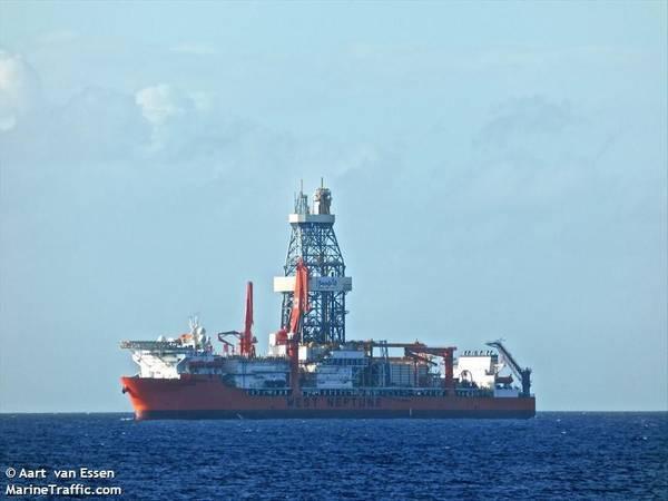 West Neptune drillship -Image Credit: Aart van Essen/MarineTraffic