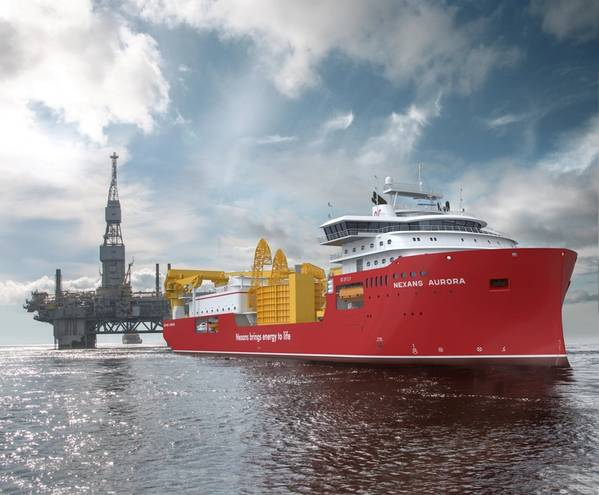 Nexans new flag ship cable layer will feature the unique MissionEase solution for mission bays from Vestdavit (Image: Vestdavit)