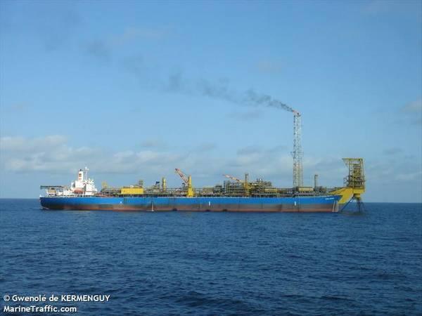 N'GOMA FPSO - Image by Gwenolé de KERMENGUY (Marine Traffic)