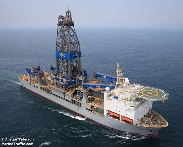 A Noble Corp. Drillship - Credit: Alistair Peterson - MarineTraffic