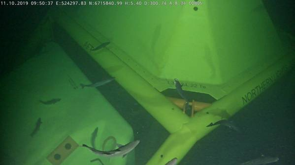The Northern Lights template on the seabed (Photo: Equinor)