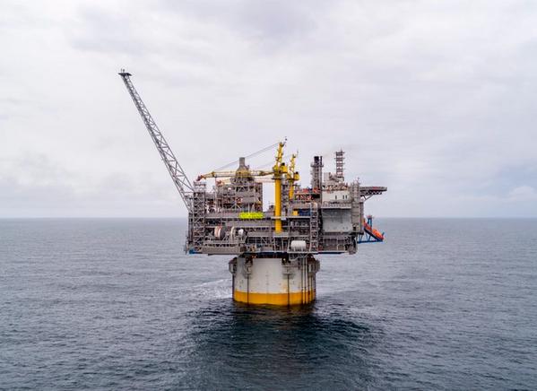 The Norwegian Sea gas spar, Aasta Hansteen (Photo: Equinor / NPD)