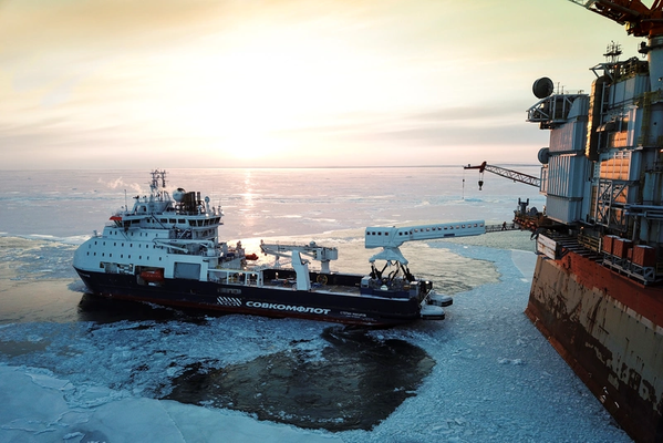 The N-type operating in the waters of Sakhalin (Photo: Ampelmann)