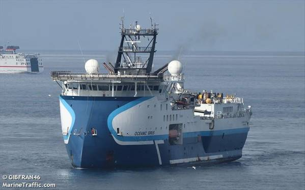 Oceanic Sirius - Credit: GIBFRAN46/MarineTraffic.com