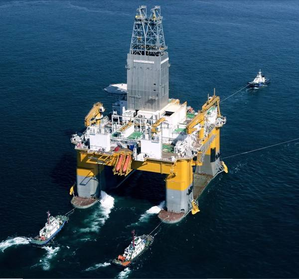 An Odfjell Drilling rig - Image Credit: Odfjell Drilling